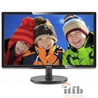 "LCD PHILIPS 19,5"" 206V6QSB6 (10/62) черный {IPS, 1440x900, 14 ms, 178°/178°, 250 cd/m, 10M:1 D-Sub}"