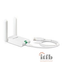 TP-Link TL-WN822N Адаптер W300M High-Power Wireless USB Adapter, 2x2 MIMO, 802.11n