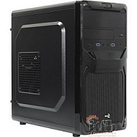 Mini Tower AeroCool  Qs-183  Advance (черный) без Б/п, mATX [55460]