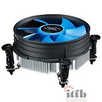 Cooler Deepcool THETA 9 {Soc-1150/1155/1156, 3pin, 23dB, Al, 82W, 269g, push-pin, low-profile}