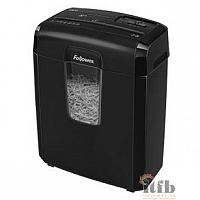 Fellowes Шредер Powershred 8Cd FS-46921 {DIN P-4, 4х35мм, 8лст., 14лтр.,уничт.: скобы,скр., пл.карты,CD}