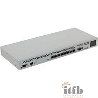 MikroTik CCR1036-8G-2S+EM Cloud Core Router CCR1036-8G-2S+EM with Tilera Tile-Gx36 CPU (36-cores, 1.2Ghz per core), 16GB RAM, 2xSFP+ cage, 8xGbit LAN, RouterOS L6, 1U rackmount case, PSU, LCD panel